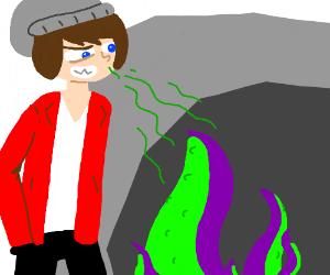 Drawsome Drawer inhaling tentacles