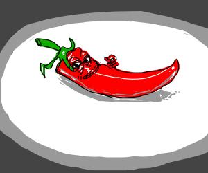 Spicy Pepe meme