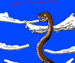 Sneks with Wings ( P.I.O )