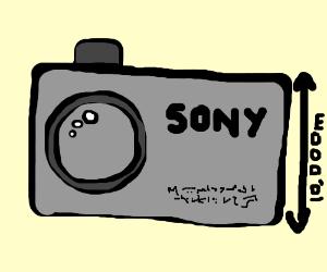 giant handheld camera