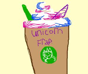 how to make a unicorn frappuccino