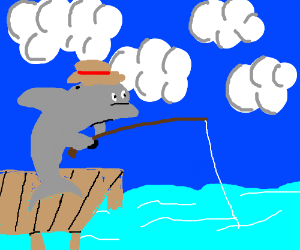 Dolphin fishing