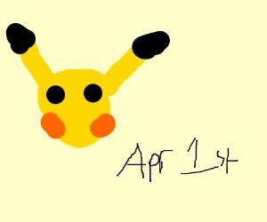 Pokemon April fools day