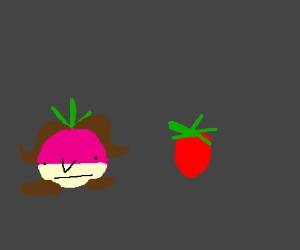 Turnip and Strawberry