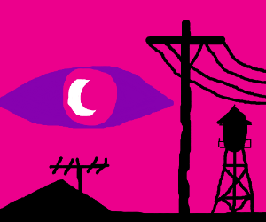 Pink Bill Cipher sees all