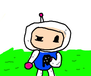 ink hand bomberman