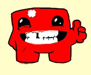 Happy Super Meat Boy