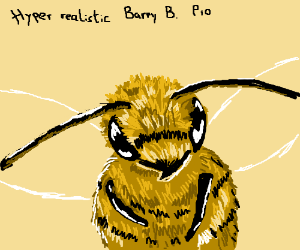 Hyper realistic Barry B. Bensonr