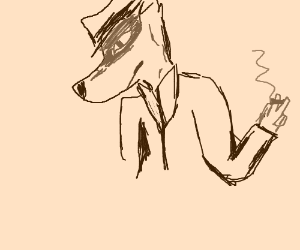 cool wolf detective