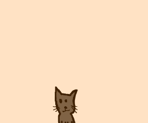 Chronomancer styled cat on sepia palette