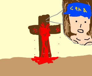 John Cena dies on cross