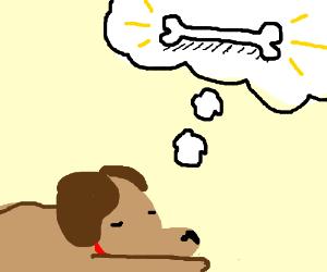 Doggo Dreams of Bone