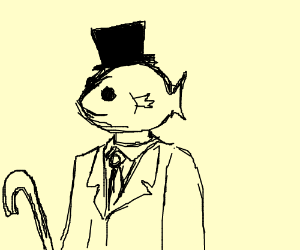 Gentleman Fish Head