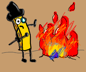 Fancy Fry Afraid of Fire