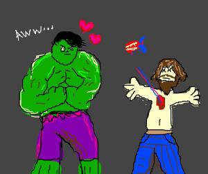 The Hulk loves a Heartless