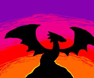 A dragon!