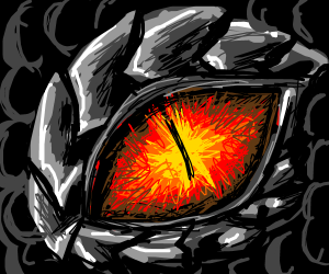 eye of a black dragon