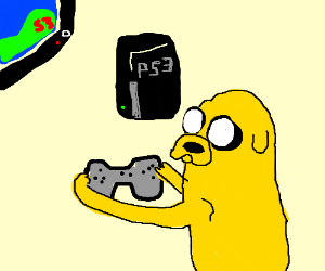 PS3 Controls intuitive enough for Jake thedog