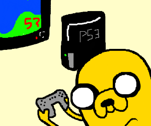 PS3 controls intuitive enough for Jake the Dog