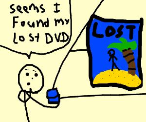 Found lost DVD