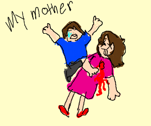 Lucas' mom is ded (Mother 3) - Drawception