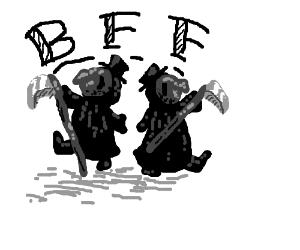 Plague Doctor Best Friends