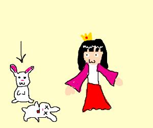 The Second Pet Rabbit of the Lunarian Princess