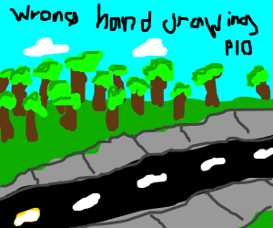 """Draw with your """"Wrong"""" Hand PIO"""