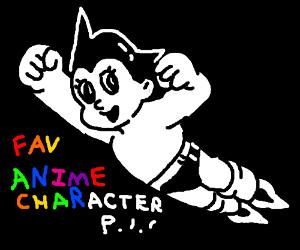 Fav. Anime character PIO (mine is saitama)
