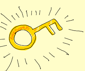Golden key of awesome