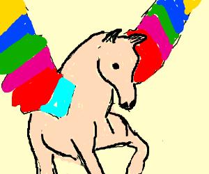 Colorful Pegasus