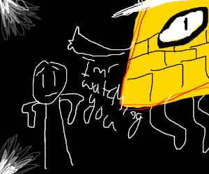bill cipher is watching you