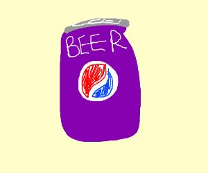 Purple Pepsi Beer