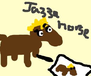 Horse draws horse (Jazza)