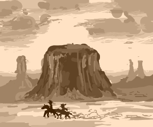 The Wild West!