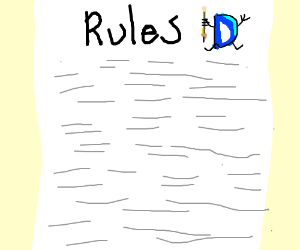 rules of drawception