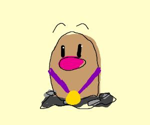 Diglet is found worthy