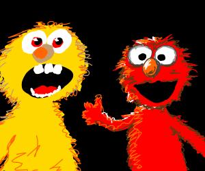 Yellmo Vs. Elmo