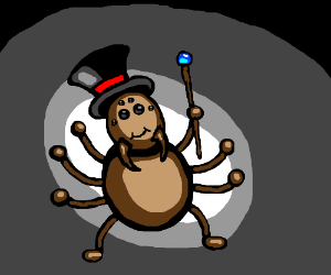Spider In A Tophat
