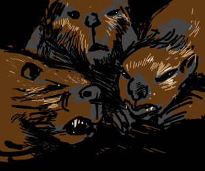 Hyper realistic Angry Beavers