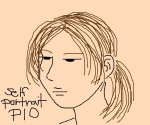 self portrait P.I.O (pass it on)