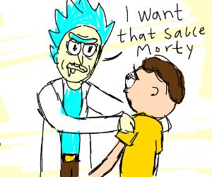 I want my McNugget Szechuan sauce, Morty