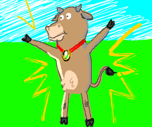 Cow is outstanding