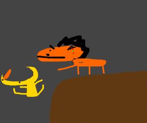Scar betrays Yellmo