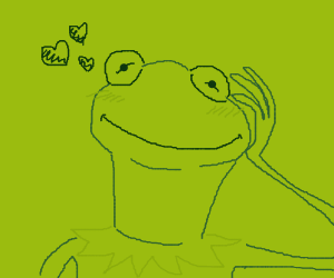 Kermit admires you (Yes, you)