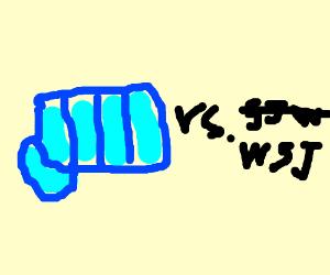 Pewdiepie vs Wallstreet journal