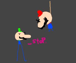 Mario Should Stop Killing Himself