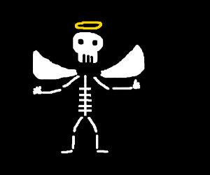 Angelic skeleton