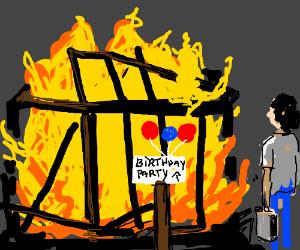 Happy burnday to you