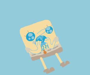 Sponge Bob wants a Jellyfish Pillow